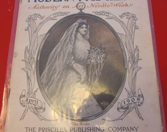 Magazine, Antique, Vintage, Fashions, Ads and Lots More: 1908, The Modern Priscilla