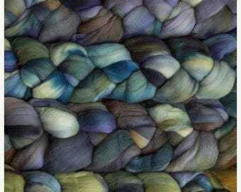 On Sale NEW Product Malabringo Nube Roving Hojas 19 Micron Merino 4 Ounces