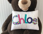 Personalized Pillow Custom Name Pillow Special Order for Laura