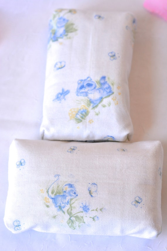Baby Shower Favors Set of 6... Kleenex Pocket Tissue Holders, 6 Handmade Bridal Shower Favors, Office Gifts, Cute Baby Shower Gift