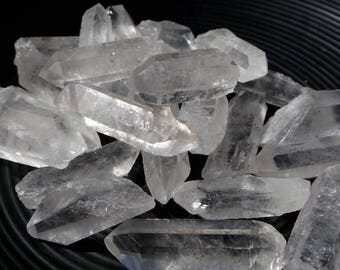 Clear Quartz points - 3pcs, Universal crystal, Master Healer, crystal grid, crystal healing,