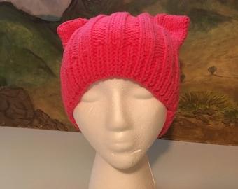 Pussycat hat pink