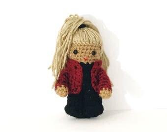 Yo Yo Inspired Crochet Doll / Gifts For DJs/ Gift for Music Lovers/ Gift for Music Producers/ Gift for Hip Hop Dancers