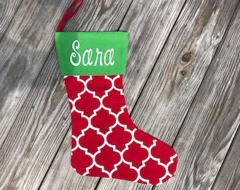 Monogram Christmas Stockings