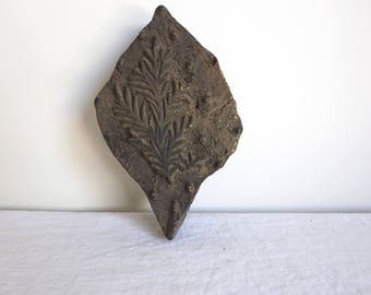 Wooden Textile Stamp Kalamkari Stamp Antique Woodblock Print Block