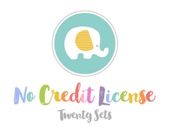 No Credit Commercial License for Up to 20 Sets.