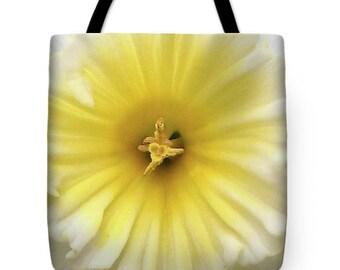 Yellow Jonquil Tote Bag, Patrushka Flower Totes, Grocery Tote Bag, Flower Tote Bag, Summer Tote Bag, Beach Tote Bag, FREE SHIPPING USA