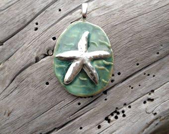 Sea Star Pendant starfish pendant