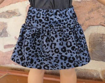"Casual Denim Skirt for the 18"" Doll"