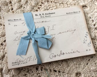 There's No Telling What They Would Prescribe In 1918 Antique Pharmacy Prescriptions