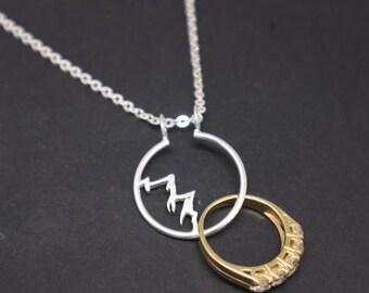 Merveilleux Ring Holder Necklace   Etsy