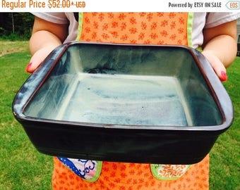 SALE Stoneware Dinnerware Set | Ceramic Cookware  | Stoneware Dinnerware | Pampered Chef Inspired  |  from my Charleston, SC Studio