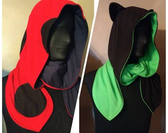 Kittybug hoodie scarf