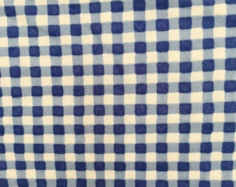 Clothworks, Cheep House, Blue Gingham Check, 10156-3