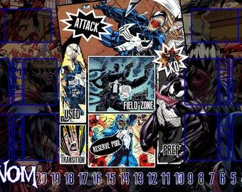 Venom Dice Masters Play Mat