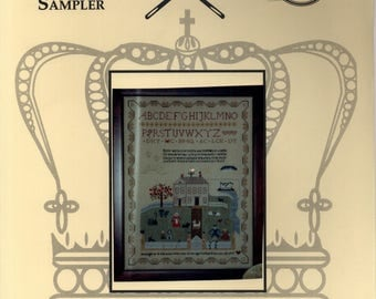 R & R Reproductions: Designer's Motif Sampler (OOP) - Cross Stitch Pattern w/button