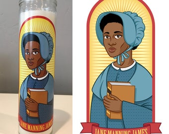 Jane Manning James Prayer Candle
