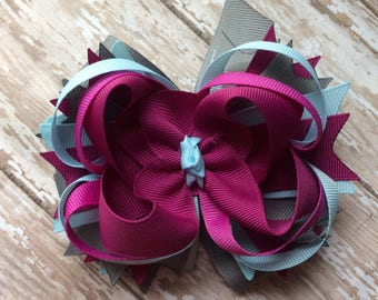CLEARANCE M2M Made to Match Eleanor Rose Georgia Surprise girls boutique style hair bow