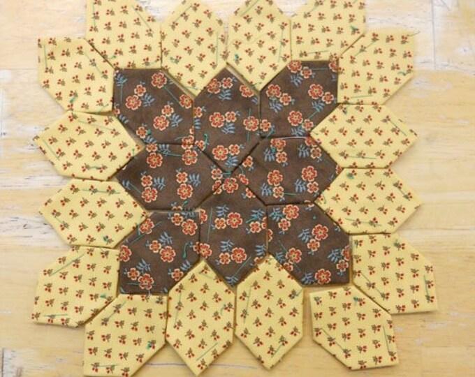 Lucy Boston Patchwork of the Crosses civil war block kit #3