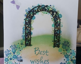 Demo card ' Best Wishes'