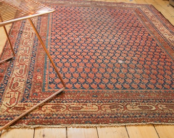 5x6.5 Antique Malayer Rug