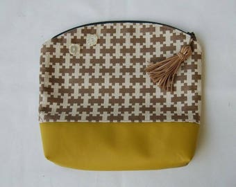 "MuLu Fold Over Clutch - ""Doris"""