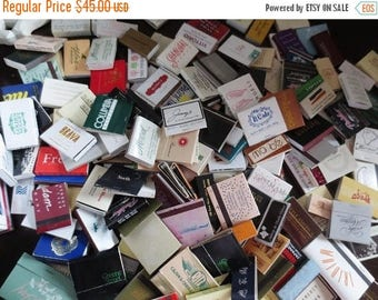 30% OFF SALE Matches Huge Collection Match Boxes Match Book Tobacciana Assortment Restaurants Hotels Vintage  and Newer Mix