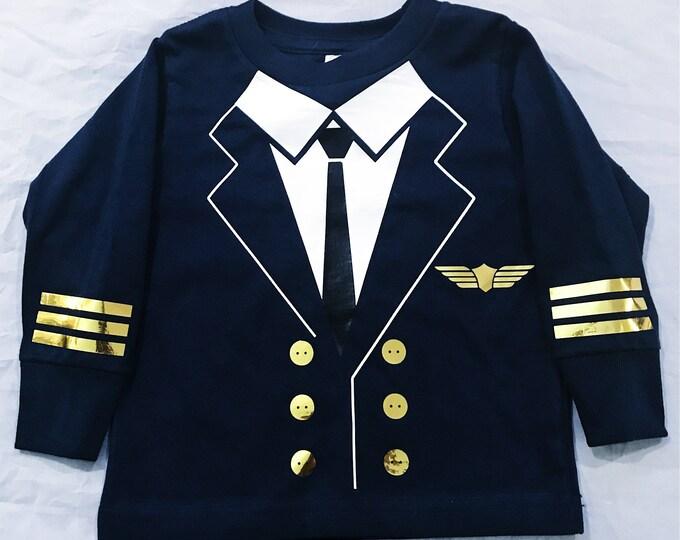 Pilot T-Shirt - Toddler, Costume, Halloowen, Dress up