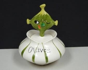 Pixie Ware Olive Dish