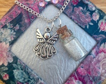 Anglel Fairy Charm necklace