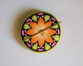 Needle Minder, polymer clay magnet, needle keeper
