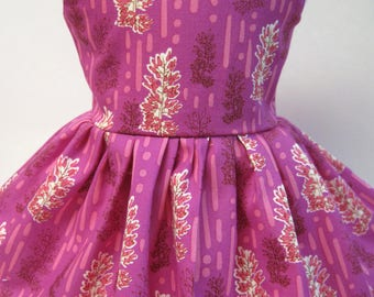 Amethyst Daydreams, Sleeveless Dress for your 18 Inch Doll A