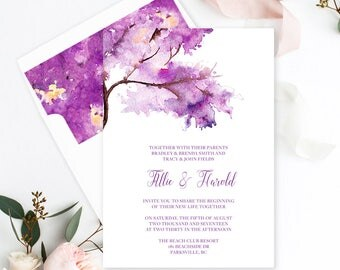 Purple Autumn (Style 13706)