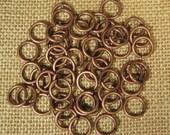 12mm 14ga Antique Copper Jump Rings - Choose Your Quantity