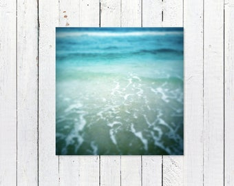 Turquoise Beach Photography Digital Download | JPG | Printable Beach Art | Ocean Waves | Printable Beach House Decor | Instant Download Art