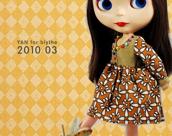 Clearance Sale - YAN - Bohemia Dress for Blythe doll