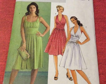 Butterick sewing pattern two styles sundress sizes 10 to 14 uncut