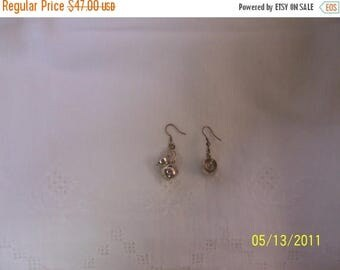 TWICE A YEAR, 25% Off Jar Shape Solid sterling silver earrings.