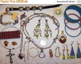 TWICE A YEAR, 25% Off Vintage Jewelry (Lot 97). Med. and Small.