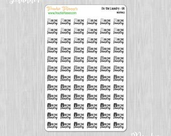 Do the Laundry, Neutrals - 72 Functional Planner Stickers    04