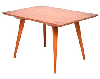 McCobb Maple Side, Table Mid-Century Modern