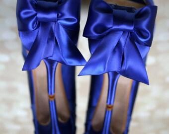 Wedding Shoes, Sapphire Blue Wedding Shoes, Sapphire Blue Wedding, Blue Wedding Shoes, Something Blue, Something Blue Shoes, Custom Wedding