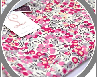 Coupon stole - scarf - pareo Liberty Wiltshire bougainville length 190 cm x 46cm