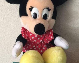 Vintage Disney Parks Minnie Mouse Plush