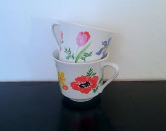 Vintage Primavera Japan Tea Cups