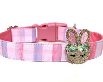 Easter Dog Accessory Bunny Dog Collar Add-on