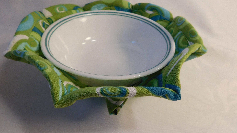 Microwave Bowl Cozy Bowl Pot Holder Bowl Cozy Soup Bowl