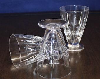 Beautiful, Set of 3, Vintage Stuart Hampshire Juice Glasses