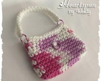 Mini Purse Gift Bag, gift card holder, money holder, party favor, goody bag, treat bag, teacher gift, stocking stuffer, doll purse