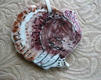 Heritage Turkey Ceramic Ornaments